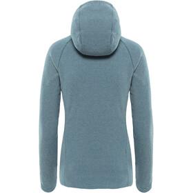 The North Face Mezzaluna Full Zip Hoodie Women Blue Wing Teal Stripe